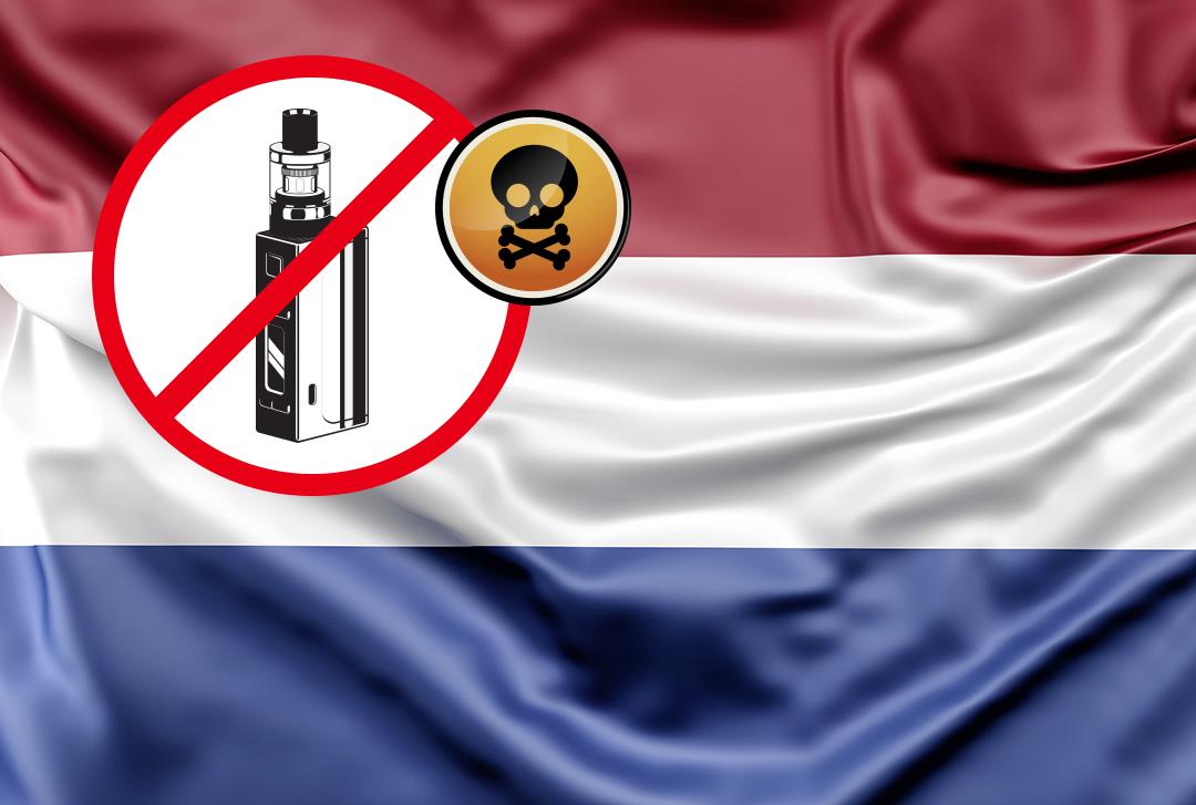 Niederlande verbietet Aroma E-Zigaretten