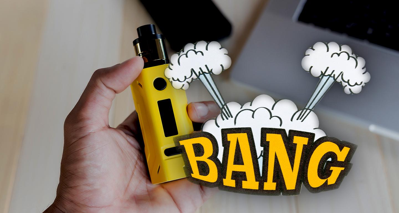 Können E-Zigaretten explodieren?