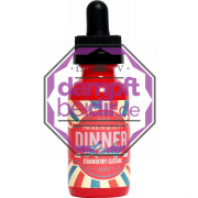 Vape Dinner Lady - Strawberry Custard - 30ml