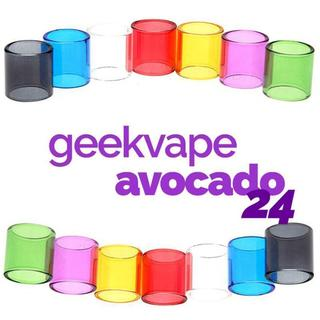 Geekvape Avocado 24 Glastank Ersatzglas Transparent
