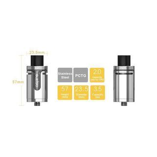 Aspire Cleito EXO Tank - 3,5ml 23,5mm Verdampfer Rainbow