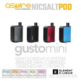 Aspire Gusto Mini Kit - by Element