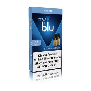 MyBlu Podpacks 2 Stück - Blue Ice 18 MG