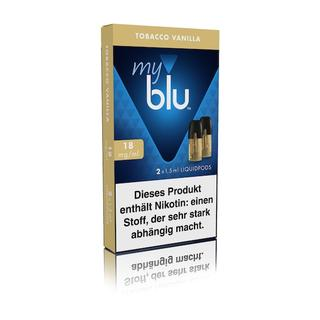MyBlu Liquid Pods - Tobacco Vanilla 18 mg/ml
