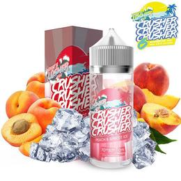Crusher E-Liquid - Peach & Apricot Ice 100ml