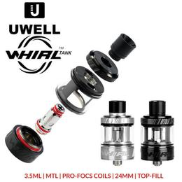 UWELL Whirl Tank  - 3,5ml TF