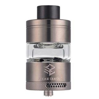 Steamcrave Glaz RTA - 7ml 30mm Tank Verdampfer Gunmetal