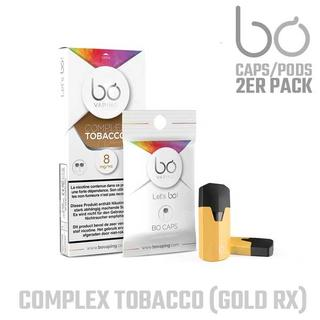 BO Vaping Pods - Complex Tobacco 16mg