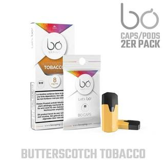BO Vaping Pods - Butterscotch Tobacco 8mg