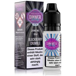 Dinner Lady Nikotinsalz - Blackberry Crumble 20mg/ml 10ml