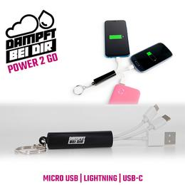 dampftbeidir Daily Power Ladekabel 3 in 1