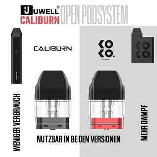 Uwell Caliburn Kit - 2ml 520mAh Podsystem