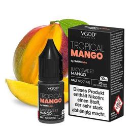 VGOD Nikotinsalz - Tropical Mango 10ML 20MG