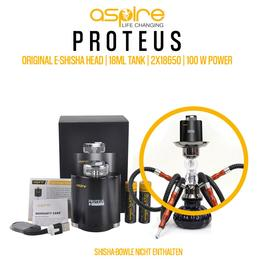 Aspire Proteus Kit - 18ml 100W E-Shisha Tank Set
