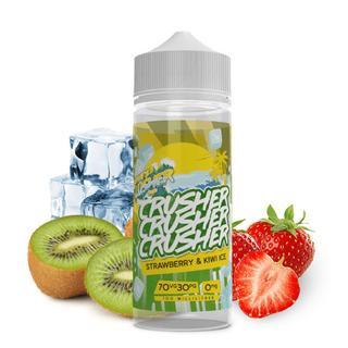 Crusher E-Liquid - Strawberry & Kiwi Ice 100ml