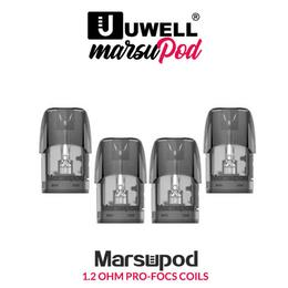 Uwell Marsu Pods - 1,3ml Verdampfer Tanks