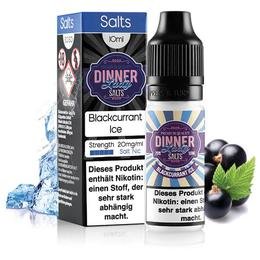 Dinner Lady Nikotinsalz - Blackcurrant Ice 20mg/ml 10ml