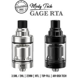 Ambition Mods Gage MTL RTA Tank - 3,5ml 22mm Verdampfer