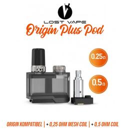 Lost Vape Origin Tank - Orion Plus Pod inkl. Coils