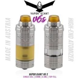 Vapor Giant V6 S RTA Tank - 5,5ml 23mm Verdampfer