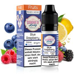 Dinner Lady 50/50 Liquid - Blue Raspberry 10ml