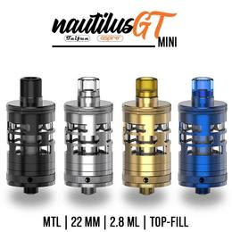 Aspire Nautilus GT Mini Tank - 2,8ml 22mm MTL Verdampfer