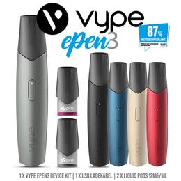 Vype ePen 3 E-Zigarette Starter Set - 12mg/ml Pods