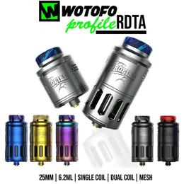 Wotofo Profile RDTA Tank - 6,2ml 25mm Verdampfer
