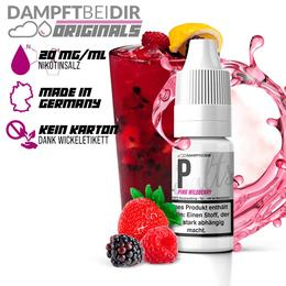 dampftbeidir Nikotinsalz P - Pink Wildberry 10ml 20mg/ml