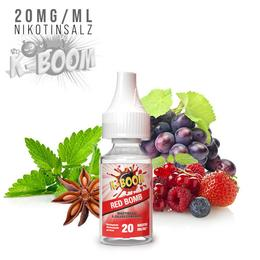 K-Boom Nikotinsalz - Red Bomb 20mg/ml Liquid
