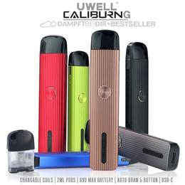 Uwell Caliburn G Pod Kit - 2ml 690mAh Podsystem