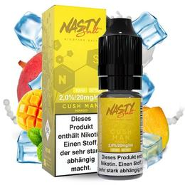 Nasty Juice Nikotinsalz - Cush Man Salt 10ml 20mg/ml