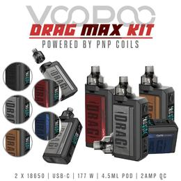 Voopoo Drag Max Kit - PnP 4,5ml 177W Set