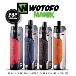 Wotofo Manik Pod Kit - 4,5ml 18650 Podsystem