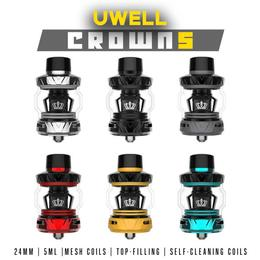 Uwell Crown 5 Tank - 5ml 24mm Mesh Verdampfer