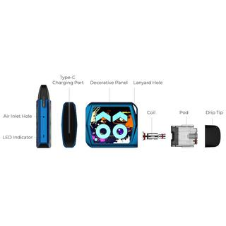 Uwell Caliburn Koko Prime Kit - 2ml 690mAh G Pod
