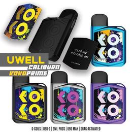 Uwell Caliburn Koko Prime Kit - 2ml 690mAh Podsystem