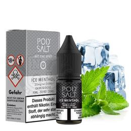 Pod Salt Nikotinsalz - Ice Menthol 11mg/ml 10ml