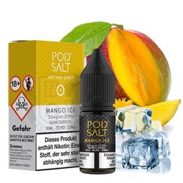 Pod Salt Nikotinsalz - Mango Ice 11mg/ml 10ml