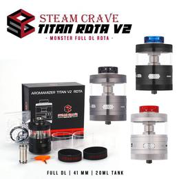Steamcrave Aromamizer Titan RDTA V2 - 41mm 20ml Verdampfer