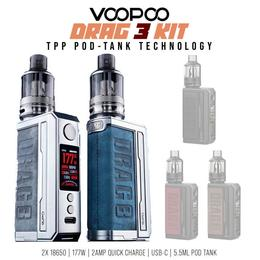 Voopoo Drag 3 Kit - 177 Watt 5,5 ml