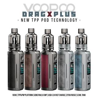Voopoo Drag X Plus Kit - 100 Watt 5,5 ml