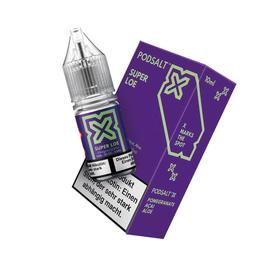 Pod Salt X Nikotinsalz Super Loe 20mg/ml 10ml