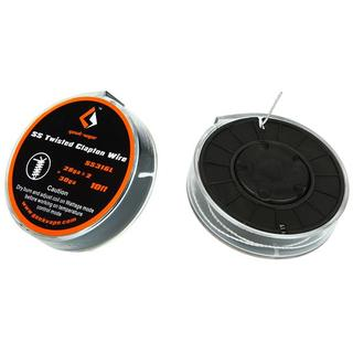GeekVape Clapton SS316 3M/10FT Drahtrolle Twisted C
