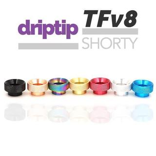Drip Tip - TFv8 Shorty Silber