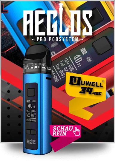 Uwell Aeglos Caliburn Pro Kit Podystem