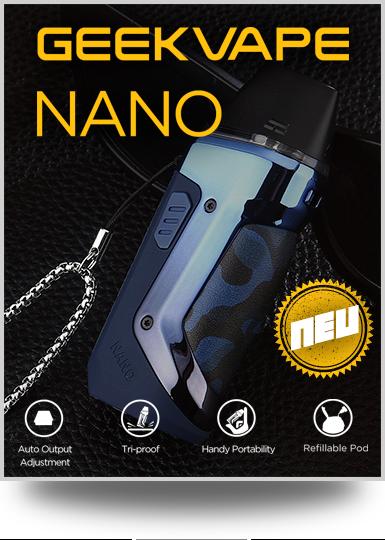 Geekvape Nano - Robustes Podsystem